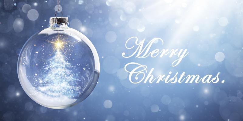 Fröhliche Weihnachten & ein gesundes neues Jahr.